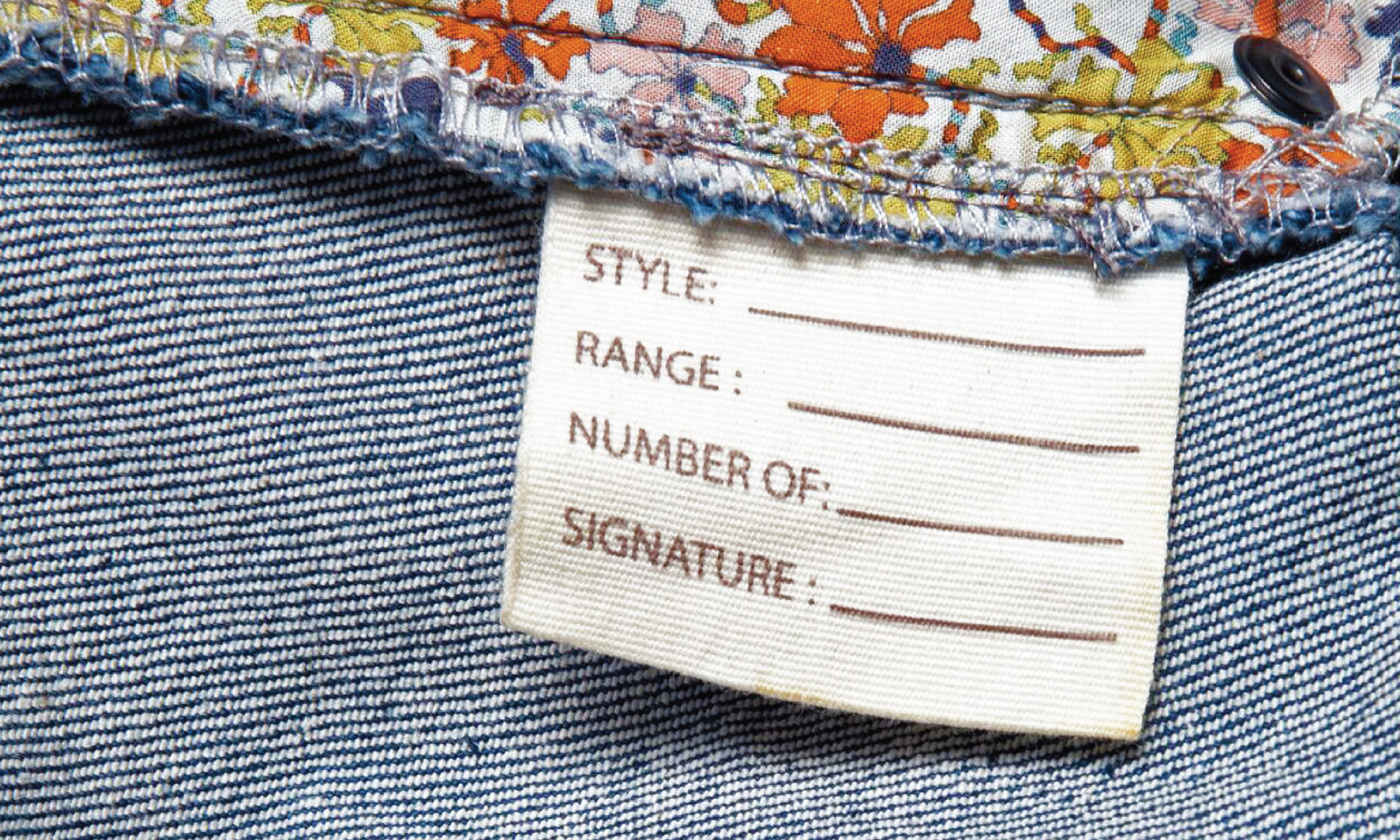 Okki Collective Limited Edition denim jeans